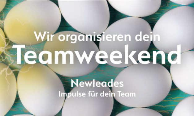 Wir organisieren dein Teamweekend
